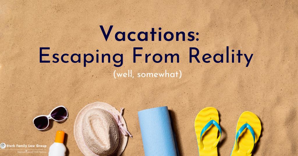 sunglasses, sun hat, sunscreen mat and sandals on sandy beach