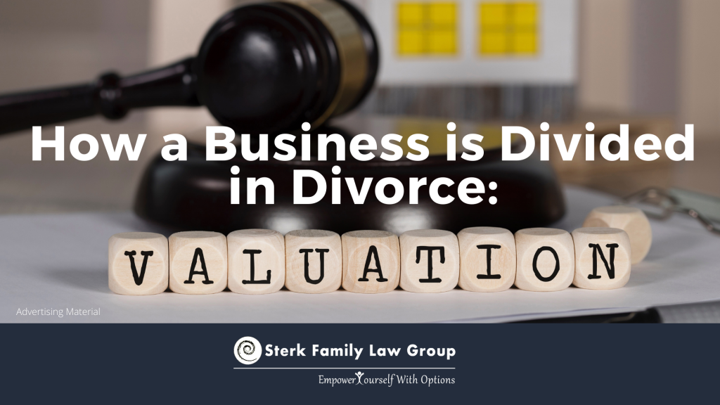how business divided in divorce valuation
